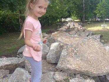 Детский парк. Начало очередного этапа реконструкции